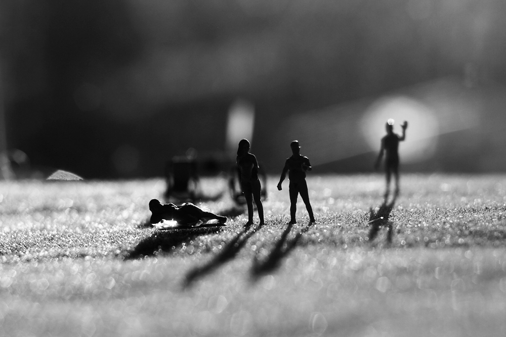 Miniature Photography - Nude Convention