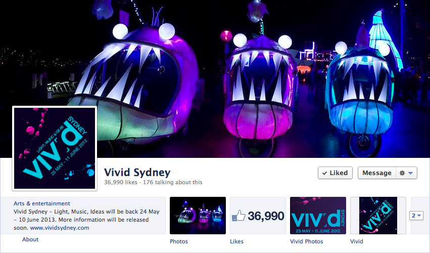 Deep Sea Creatures: Vivid Sydney 2012
