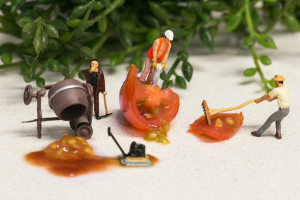 Tiny People: The Making of Tomato Sauce