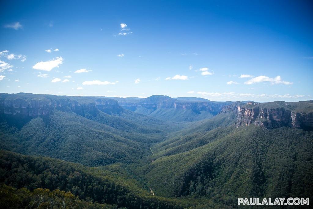Grose Valley from Evans Head lookout