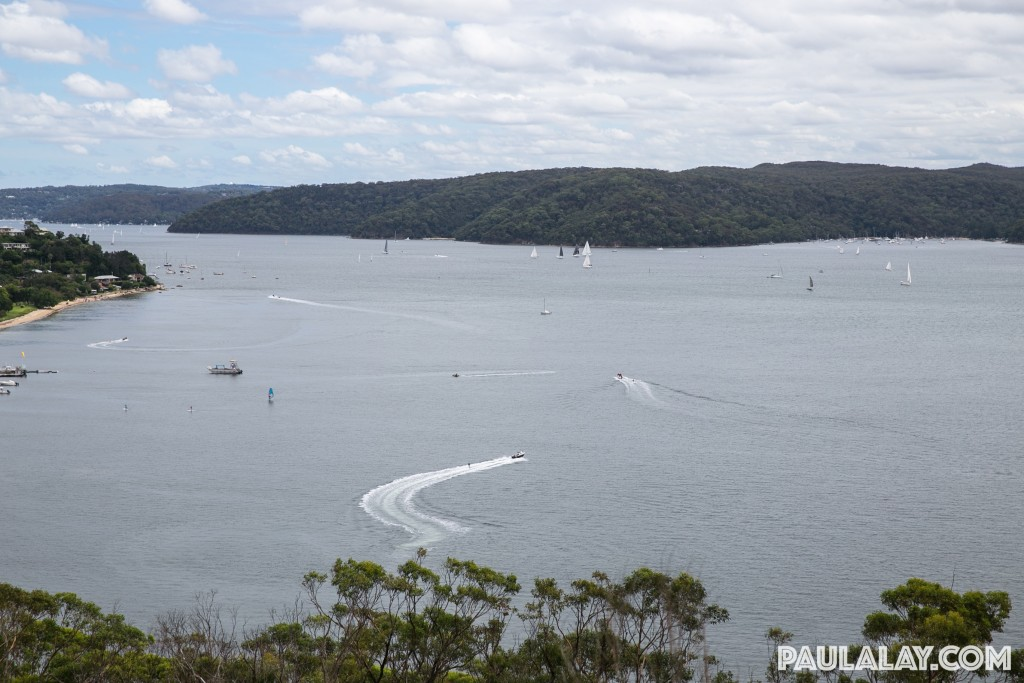 Boats on Pittwater