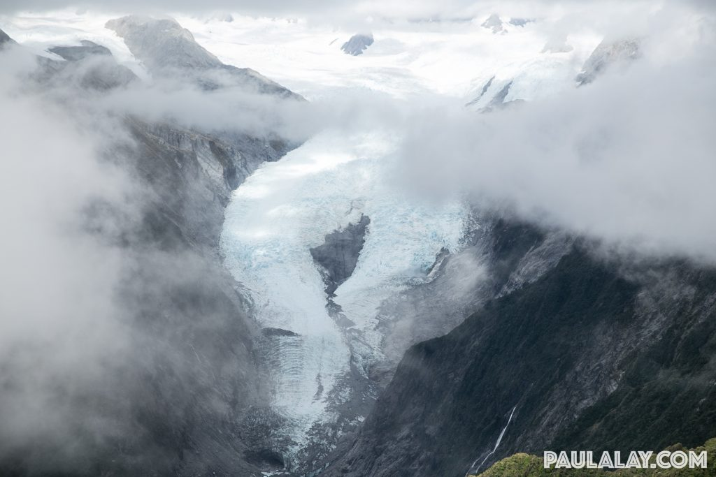 View of Franz Josef Glacier from Alex Knob Summit